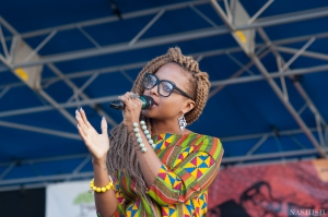 Singer, Chrisette Michele at Restoration Rocks 2013. Photo: Nashish Photography